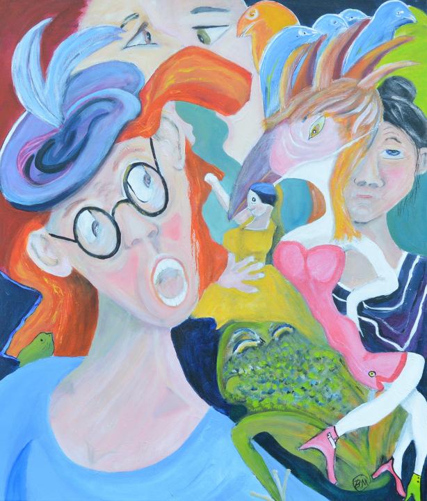 52235- Kunst af Birgit Mau_Hvad-siger-du