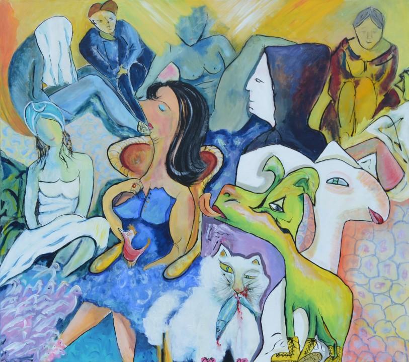 52249 Kunst af Birgit Mau_mig først