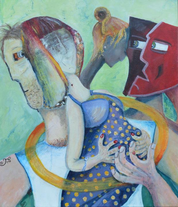 52258_Kunst af Birgit Mau_Kvinde-min