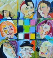 52251 Kunst af Birgit Mau_Byens borgere