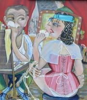 52272 Kunst af Birgit Mau_tæppefald