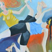 52283 Kunst af Birgit Mau_Yogastrækket