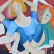 52285 Kunst af Birgit Mau_Yogadrømme