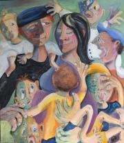 52293-Kunst af Birgit Mau_Familie-harmoni